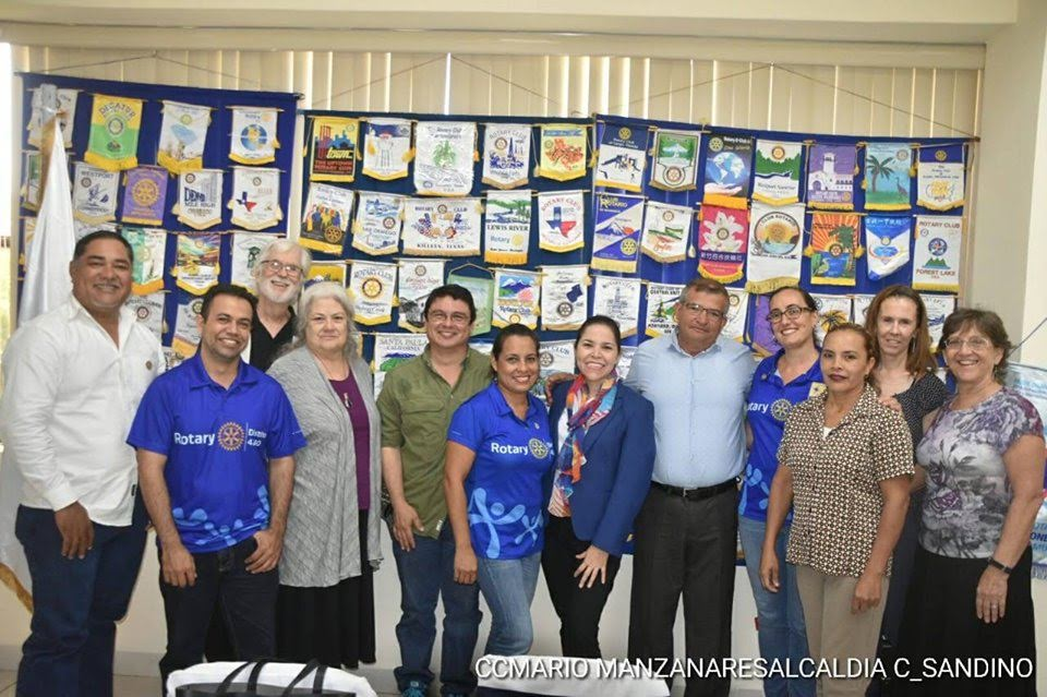 2019-08 Rotary Club Ciudad Sandino with